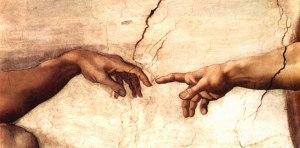 Michealangelo's Creation of Adam