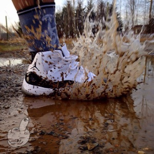 shoe mud